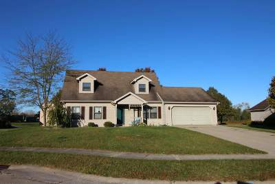 Kendallville Single Family Home For Sale: 203 Morning Wind Place Place