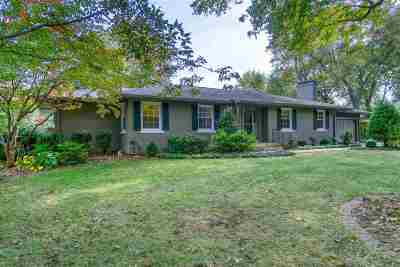 Evansville Single Family Home For Sale: 1206 Harrelton Court