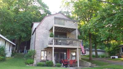 Steuben County Single Family Home For Sale: 455 Lane 200 Lake James Blvd