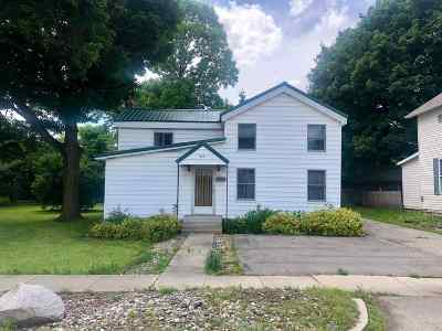 Lagrange IN Single Family Home For Sale: $89,900