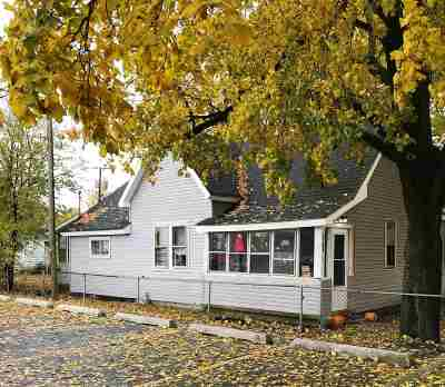 Marion Single Family Home For Sale: 1834 W Euclid Avenue