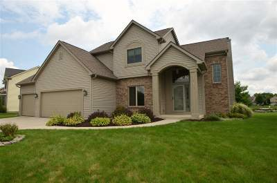 Allen County, Kosciusko County, Noble County, Whitley County Single Family Home For Sale: 2425 W Harbourside Drive