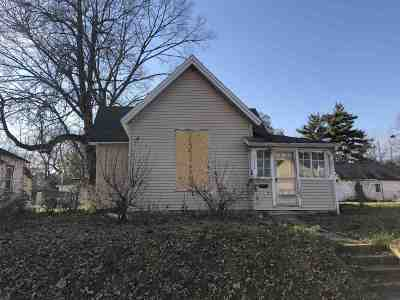 Marion Single Family Home For Sale: 2104 S Gallatin Street
