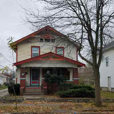 Fort Wayne IN Single Family Home For Sale: $45,000