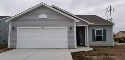 Lafayette Single Family Home For Sale: 165 S Rickover Circle (192)