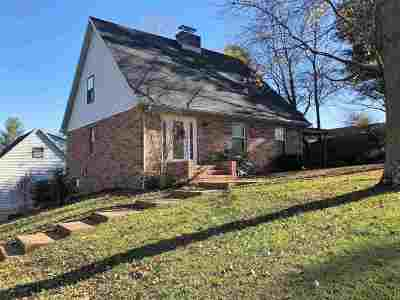 Evansville Single Family Home For Sale: 9911 Old State Road