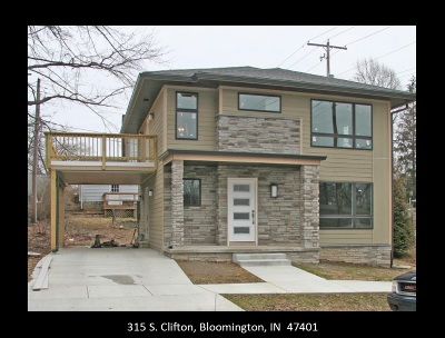 Bloomington IN Single Family Home For Sale: $443,900
