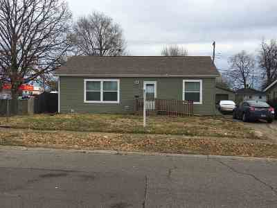 St. Joseph County Single Family Home For Sale: 1222 N Iowa Street