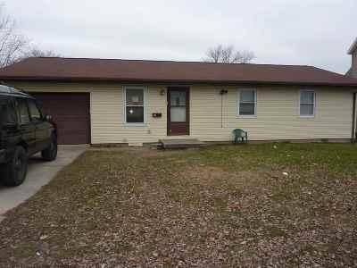 Gas City Single Family Home For Sale: 215 E South D Street