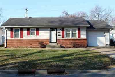 Evansville Single Family Home For Sale: 1631 S Boeke Road