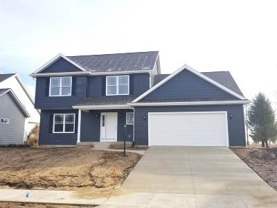 St. Joseph County Single Family Home Cont-First Right: 124 Wintergreen Drive