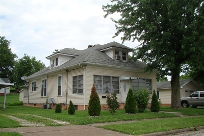 Huntingburg Single Family Home For Sale: 806 E 7th Street