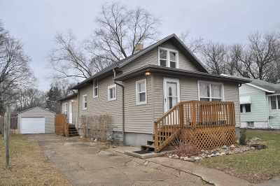 Elkhart Single Family Home For Sale: 1114 Grant Street