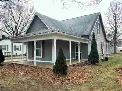 Sweetser Single Family Home For Sale: 327 Craven Street