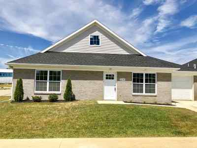Evansville Condo/Townhouse For Sale: Unit 4A Phase 2 Trace