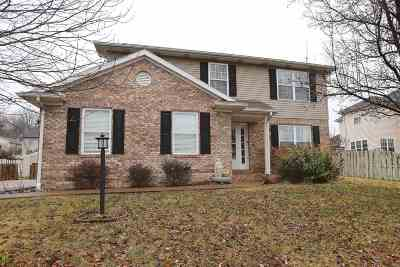 Evansville Single Family Home For Sale: 8621 Manchester Court
