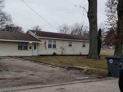 Evansville Single Family Home For Sale: 2529 S Boeke Road