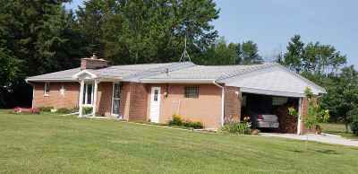 Marion Single Family Home For Sale: 4293 N Huntington Road