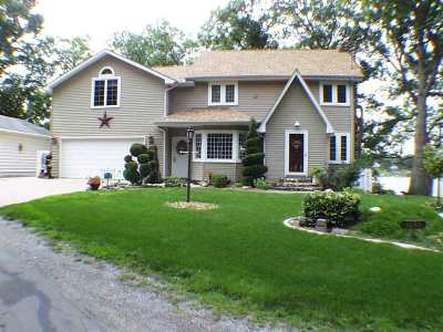 Steuben County Single Family Home For Sale: 1080 Lane 210 Hamilton Lake
