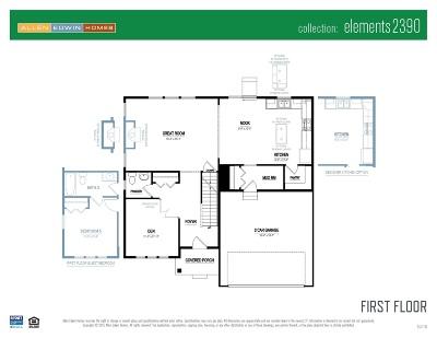 Elkhart Single Family Home For Sale: 28592 Golden Pond Trail