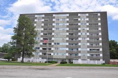 Evansville Condo/Townhouse For Sale: 1100 Erie Avenue #1007