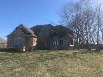 Fort Wayne Single Family Home For Sale: 12309 McKays Pt. Court