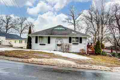 Angola Single Family Home For Sale: 3568 N Bayview Road