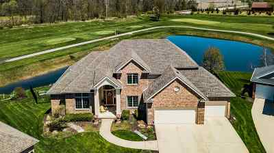 Allen County Single Family Home For Sale: 11906 Fairway Winds Court