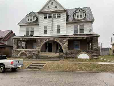 Elkhart Multi Family Home For Sale: 220 Jefferson Street