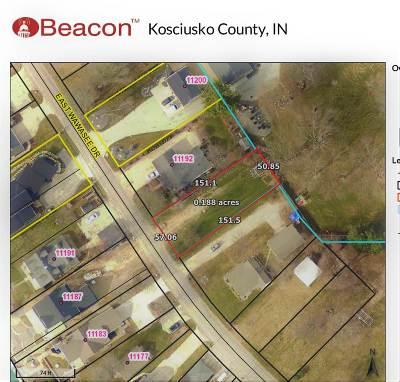 Kosciusko County Residential Lots & Land For Sale: 11190 NE Wawasee Drive