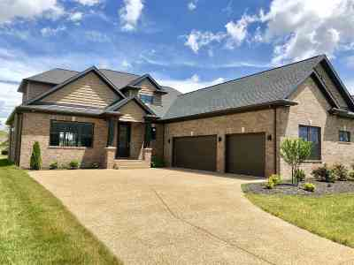 Evansville Single Family Home For Sale: 1220 Ladbrooke Drive