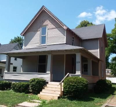 Marion Single Family Home For Sale: 119 N E Street