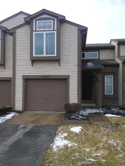 Fort Wayne Condo/Townhouse For Sale: 6308 Langwood Blvd