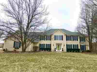 Fort Wayne Single Family Home For Sale: 2810 Covington Hollow Trail