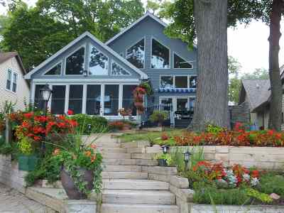 Steuben County Single Family Home For Sale: 166 W Clear Lake Drive