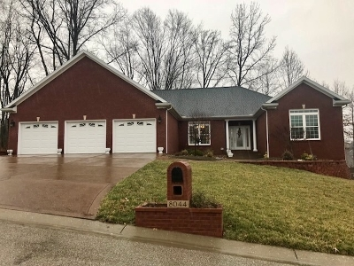 Evansville Single Family Home For Sale: 8044 Whitetail Trail