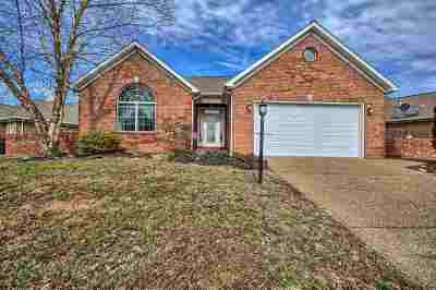 Evansville Single Family Home For Sale: 2126 Championship Drive