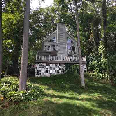 Steuben County Single Family Home For Sale: 55 Lane 254 Hamilton Lake