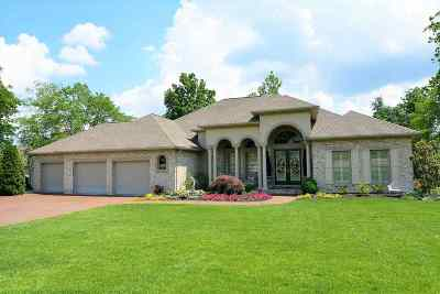 Evansville Single Family Home For Sale: 1929 Championship Drive