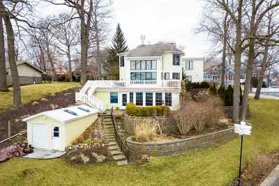 Syracuse Single Family Home For Auction: 741 E Northshore Drive