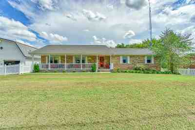 Spencer County Single Family Home For Sale: 1617 N County Road 312 W Street