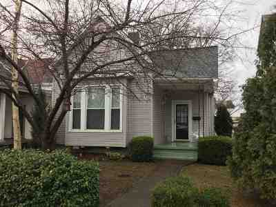 Evansville Single Family Home For Sale: 1509 Cumberland Avenue