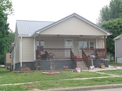 Huntingburg Single Family Home For Sale: 1005 N Jackson St.