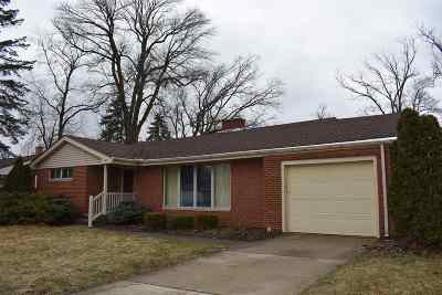 Mishawaka Single Family Home For Sale: 3424 South Shore Drive