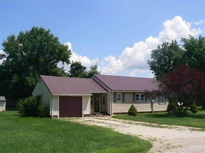 Jasper Single Family Home For Sale: 3831 W Portersville Rd. E.