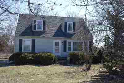 Wabash Single Family Home For Sale: 791 N State Road 115 Road