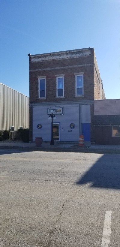 Dekalb County Commercial For Sale: 121 N Randolph Street