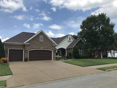 Evansville Single Family Home For Sale: 1218 Raleigh Drive