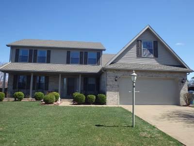 Evansville Single Family Home For Sale: 15401 Averitt Drive