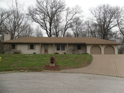 Evansville Single Family Home For Sale: 5850 Choice Cut Court